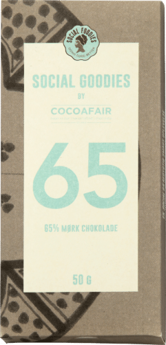 65% mørk chokolade