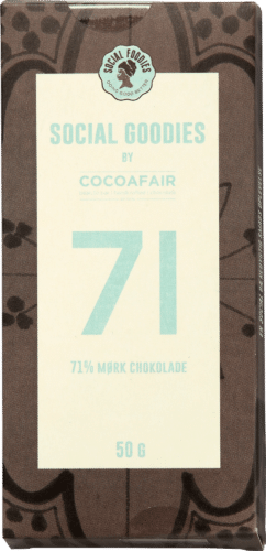 71% mørk chokolade