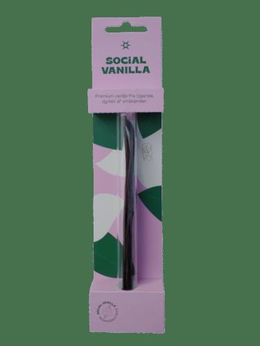 Social Vanilla vanilje i glas
